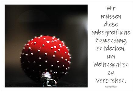 Gedichte Monika Minder Weihnachten